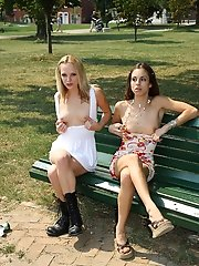 Public Nudity with Faye Runaway and Isabella Sky - 10/5/2012