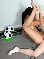 Soccer Game Turns Sexual with Amai Liu and Leighlani Red - 3/13/2012